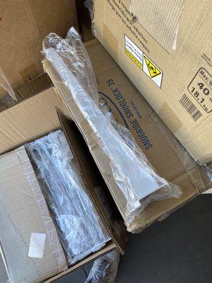 """16"""" slatwall shelf bracket 25 pcs white for Sale in Cypress, CA"""