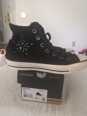 Brand new converse tennis shoes for women size 7.5 for Sale in Riverside, CA