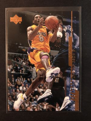 Kobe Bryant 2000 Upper Deck Basketball Card. Kobe Bryant LA LAKERS Basketball Trading Card. SHARP! INVEST. for Sale in Chicago, IL