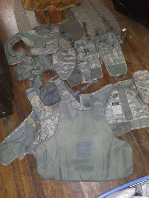 Improved army ballistics vest and inserts for Sale in Clarksville, TN