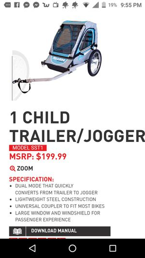 Bike trailer for kids Allen sports for Sale in Columbus, OH