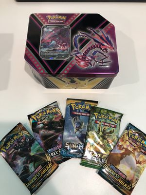 Pokemon Tin + Darkness Ablaze, Sun & Moon, Fates Collide for Sale in Burbank, CA