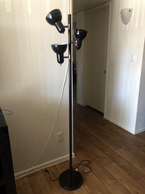 Black floor lamp for Sale in Glendale, AZ