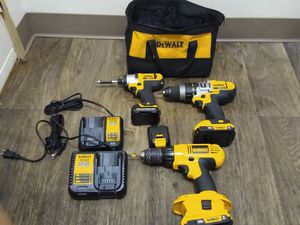 DeWALT power tools and chargers for Sale in Oregon City, OR