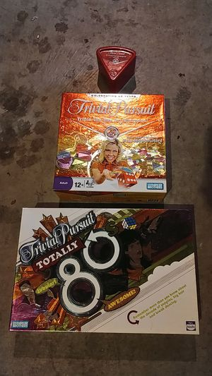 Trivial Pursuit games and cards for Sale in Beaverton, OR