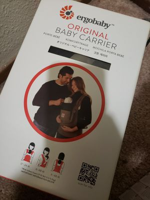 ErgoBaby Original Baby Carrier W/ Infant Insert for Sale in San Jose, CA