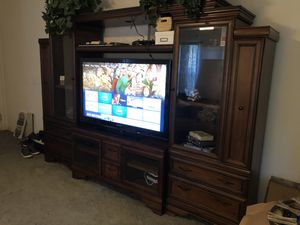 Entertainment wall unit for Sale in Ocala, FL