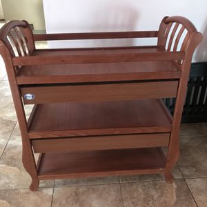 Amy Changetable with 2 Drawers-amber Color for Sale in East Hartford, CT