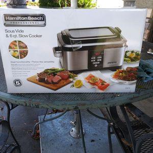 Hamilton Beach Cooker for Sale in Riverside, CA