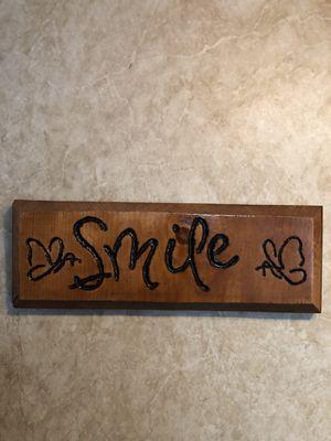 Wood Frame smile for Sale in Clarksburg, WV