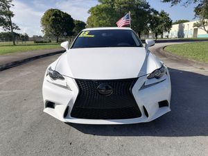 2015 LEXUS IS 250 clean carfax for Sale in Miami, FL