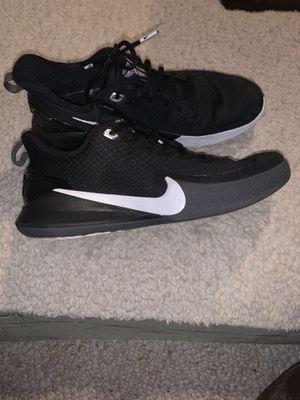 Nike Mamba Fury - Black & White for Sale in Cincinnati, OH