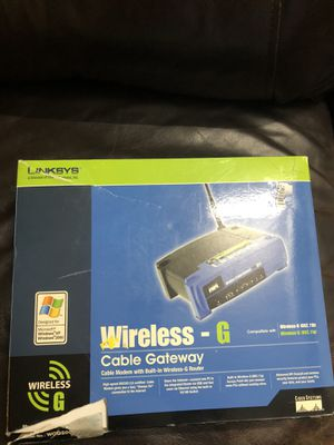 Linksys modem and router work great just dont need anymore for Sale in Auburn, WA