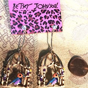 "2 1/4"" In The Bird Cage Earrings for Sale in Charleston, SC"