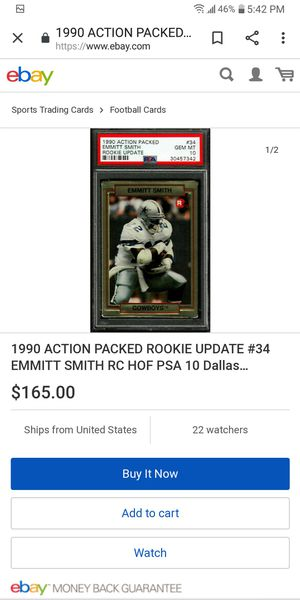 90 Emmitt Smith Rookie for Sale in Farmington, IL