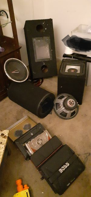 Tons of car audio for Sale in Fresno, CA