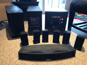 Bose Sound Systems and Martin Logan Subwoofer - LAST WEEKEND for Sale in Alexandria, VA