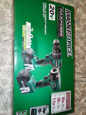 Brand new 20 v masterforce drills for Sale in Columbus, OH