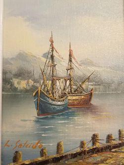 Oil Picture Originally $60 for Sale in Kent,  WA