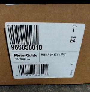 """MotorGuide 966050010 VariMAX V55 HP Freshwater Pontoon Mount Trolling Motor - Hand Control - 12V-55lb-50"""" for Sale in Nashville, TN"""