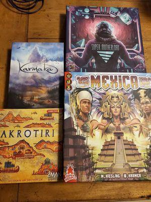 Boards Games Mexica, Akrotiri, Super Motherload, Karnak for Sale in Port Orchard, WA