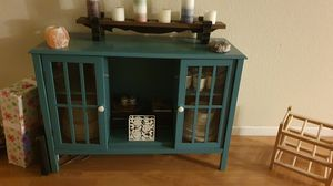Teal accent cabinet for Sale in West Los Angeles, CA