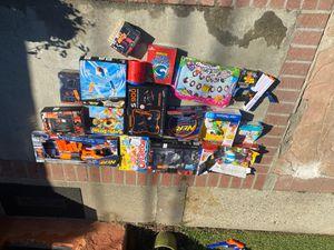 Kids toys games nerf guns board games open box for Sale in La Puente, CA