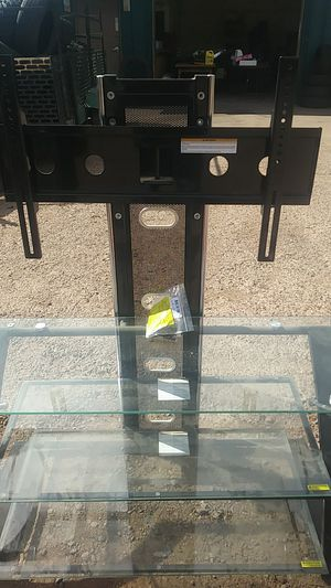 Nice tv stand with mounts new for Sale in Payson, AZ