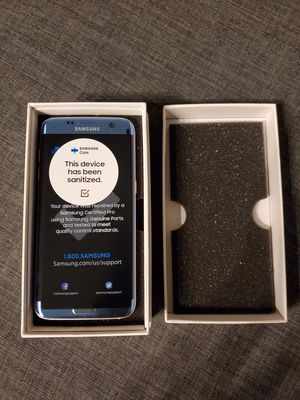 Certified by Samsung - Samsung Galaxy S7 Edge Unlocked Clean IMEI with Fast Charger. Mint condition. for Sale in Chicago, IL