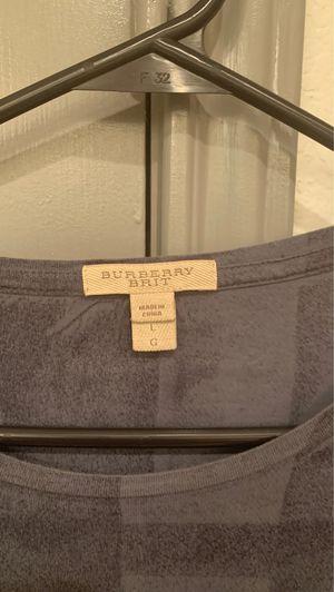 Burberry Men's t shirt for Sale in Dallas, TX