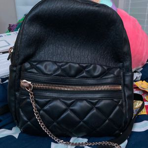 Leather Black Backpack for Sale in Turlock, CA