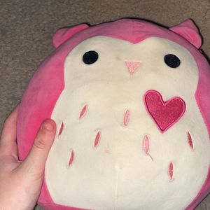 Small Pink Valentines Owl Squishmallow for Sale in Albuquerque, NM
