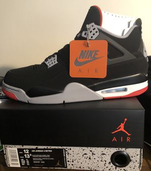 Jordan 4 Bred / Size 12 / New / DS for Sale in Cypress, CA