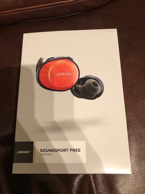 Bose Soundsport Free Wireless Bluetooth Headphones for Sale in Irvine, CA