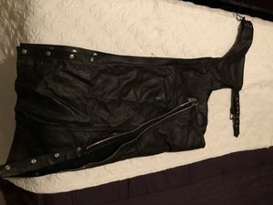 Motorcycle ride pants and vest for Sale in Hanford, CA
