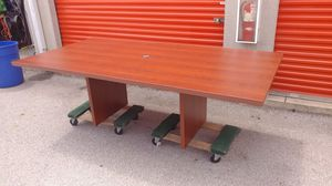 8 foot conference table for Sale in Columbus, OH