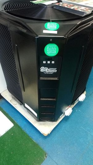 Heat up your pool or spa or jacuzzi with an energy efficient heat pump for your swimming pool one of the best pool heaters in the industry for Sale in Pompano Beach, FL