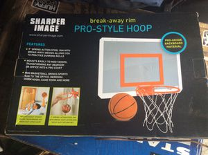 Sharper Image Pro Style Hoop, Indoor breakaway style for Sale in Port Orchard, WA