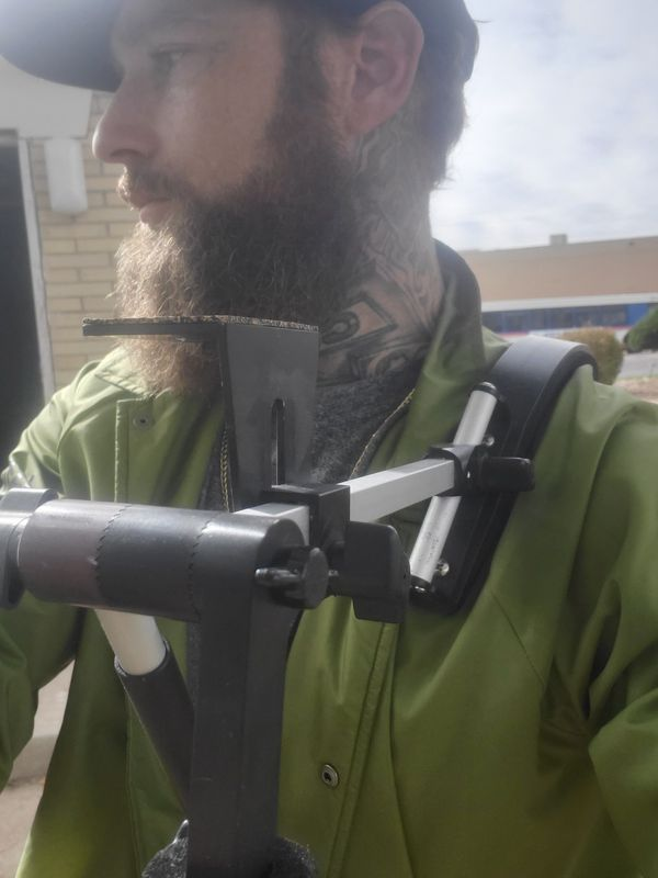Peter Lisand Lsp-92 video camera shoulder mount