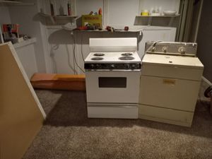 Free working stove and dryer for Sale in Denver, CO