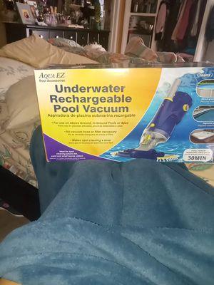 Aqua EZ underwater rechargeable pool vacuum for Sale in Bakersfield, CA