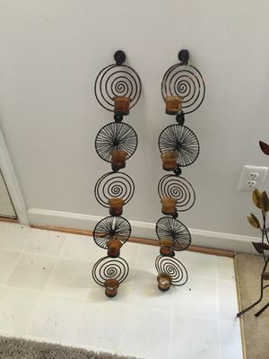 Wall art candle holders for Sale in Fort Washington, MD