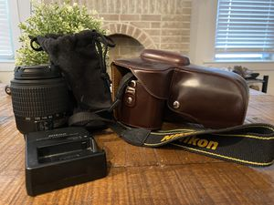 Nikon D3200 and 2 lenses for Sale in Dallas, TX