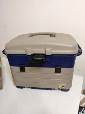 Fishing tackle box lots of new stuff very good deal for Sale in Anchorage, AK