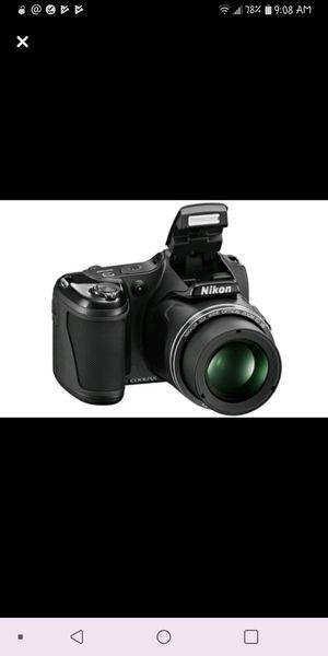 Nikon Coolpix L820 Black Digital Camera for Sale in Spokane, WA