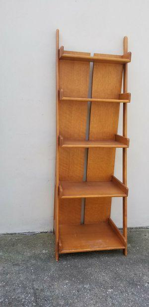 Solid oak ladder shelf for Sale in Staten Island, NY