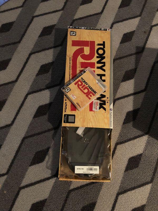 PS3 Tony Hawk Virtual Skateboard & Video Game Disc