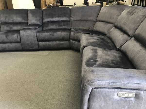 New Fabric Power Recliner Sectional Couch /$50 down