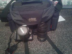 Canon T1i 2 lenses + Case for Sale in Philadelphia, PA