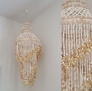 Boho Cowrie Shell Chandelier for Sale in Puyallup, WA